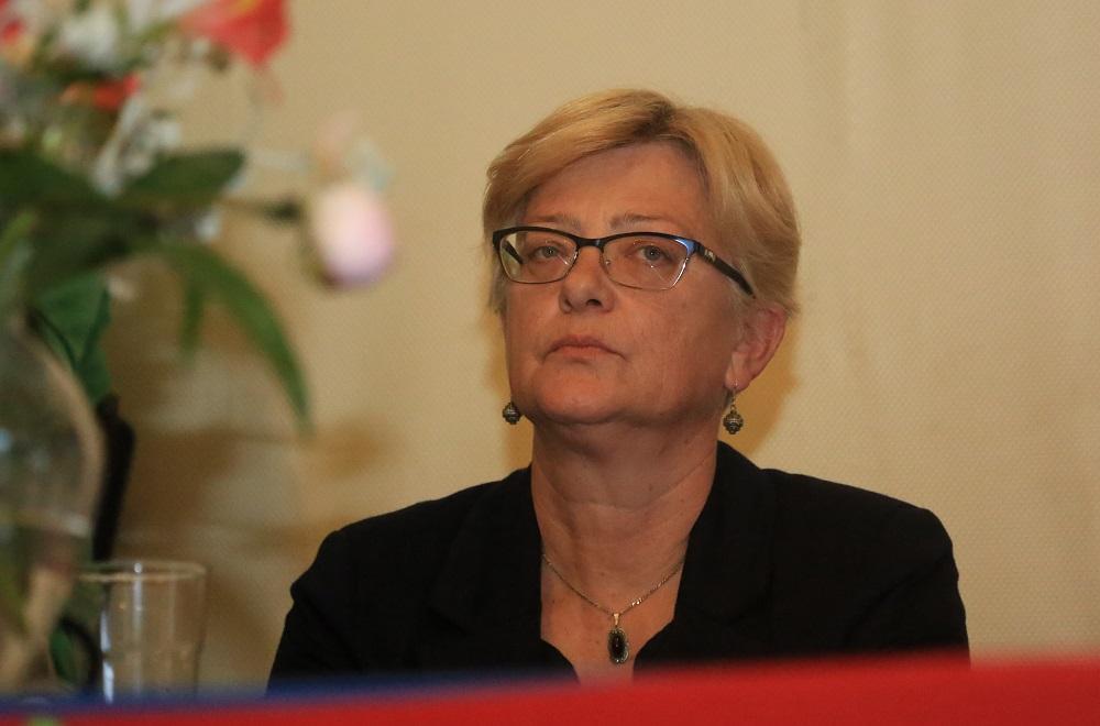 Kandidatkinja za načelnicu Mande Turčinov-Ježina (Foto: Rudinapress/H. Pavić)