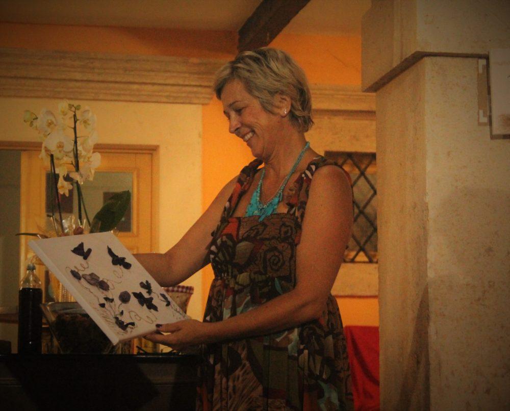 Ravnateljica Narodne knjižnice i čitaonice Tisno, Silvija Ćurić (Foto: Rudinapress/Sanja Henjak)