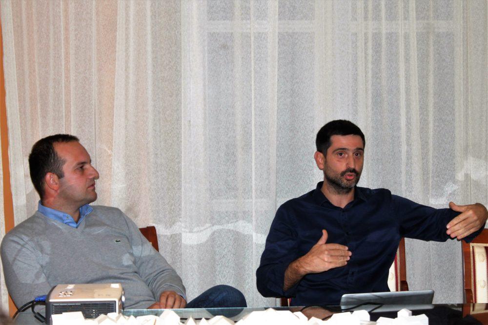 Ivan Klarin i Dinko Peračić (Foto: Rudinapress/S. Henjak)