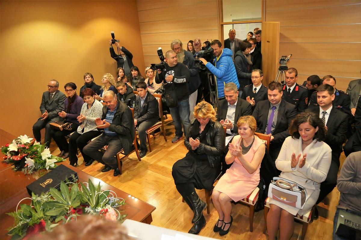Svečana sjednica Općinskog vijeća Tisnog (Foto: rudinapress/H. Pavić)