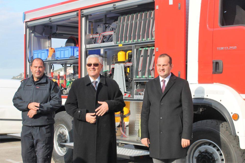Darko Dukić, Zoran Smolić, Ivan Klarin (Foto: Rudinapress/S. Henjak)
