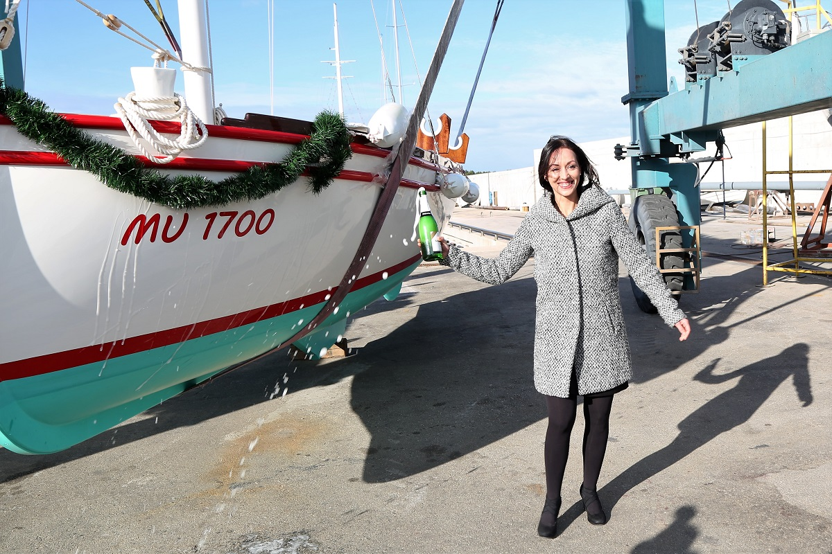 Ivana Radovčić 'krstila' je 'Lipu moju' (Foto: Rudinapress/H. Pavić)