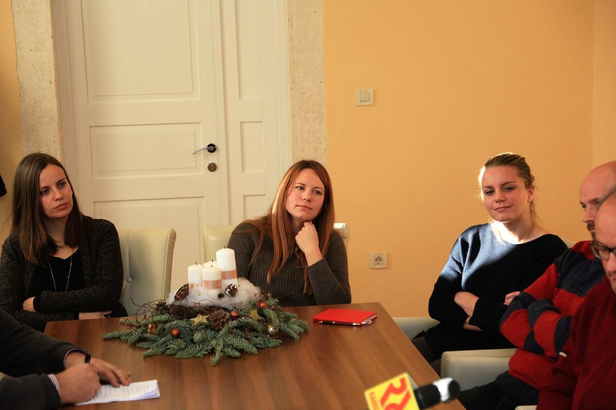 Sanja Tabori, Kate Šikić-Čubrić i Marija Krnčević-Rak (Foto: Rudinapress/H. Pavić)